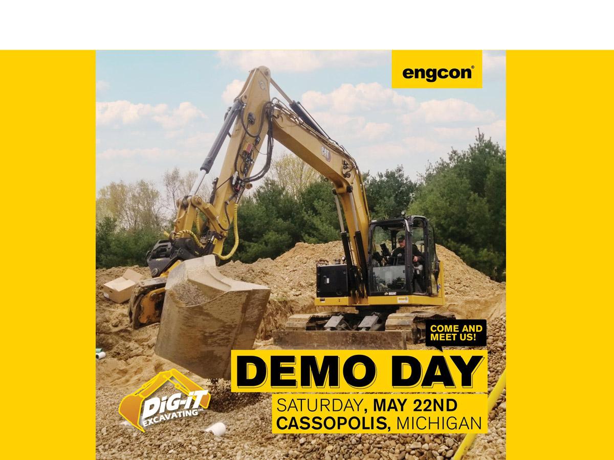 Dig-it excavating demo day