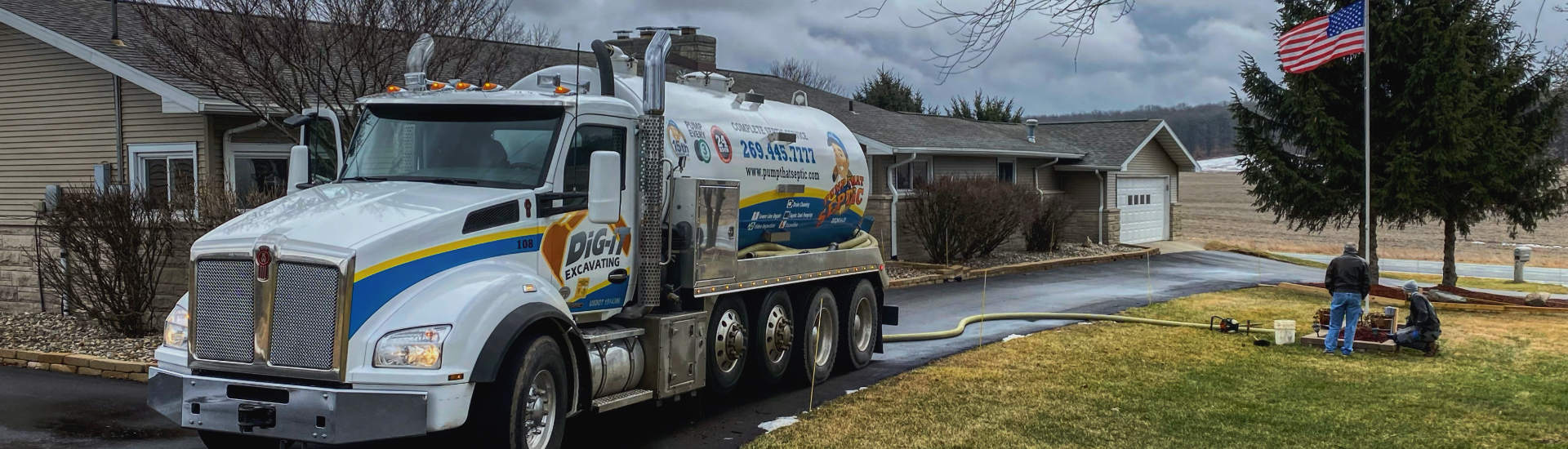 Septic inspection truck
